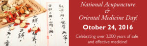 National Acupuncture and Oriental Medicine Day