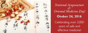 National Acupuncture and Oriental Medicine Day (AOM)